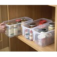 Set Of 3 Kitchen Cupboard Organiser Caddies
