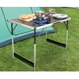 Height-Adjustable Folding Table
