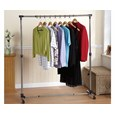 Free-Standing Adjustable Clothes Rail