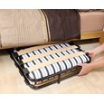 Hide-Easy Slatted Folding Guest Beds, Pair