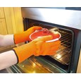 Heat-Resistant Knitted Oven Gloves