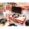 Sixties'-Style Briefcase Stereo Record Player