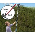 BERGMAN 9ft Telescopic Short And Tall Hedge Trimmer