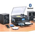 Steepletone 'Boston 2' 6-in-1 Vinyl, Tape, CD, Radio & Bluetooth Player & CD Recorder